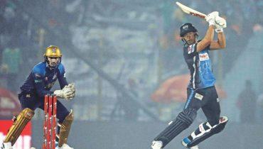 AB de Villiers 100 of 50 balls in BPL 19