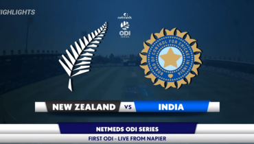NZ v India 1st ODI Highlights
