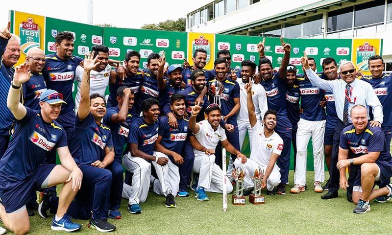 Sri Lanka triumph in South Africa
