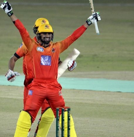 Danish Aziz stunning hitting steals the show